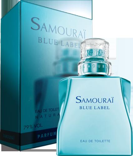 Samourai Blue Label サムライ ブルーレーベル オードトワレ