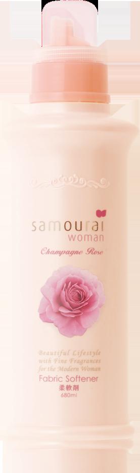 サムライウーマン シャンパンローズ 柔軟剤